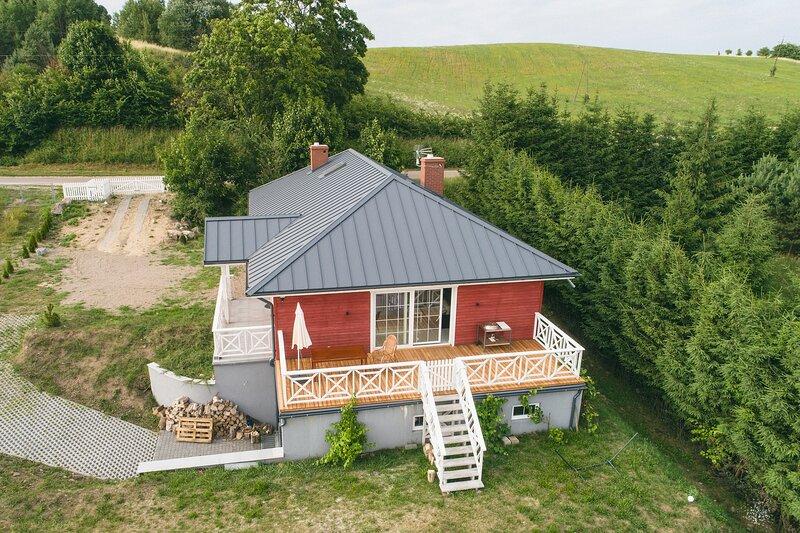 Dom nad Lubie, location de vacances à Drawsko Pomorskie