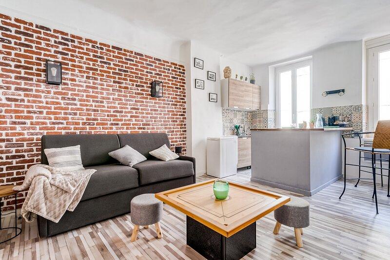 Massilia - Studio Cours Julien, aluguéis de temporada em Plan De Cuques