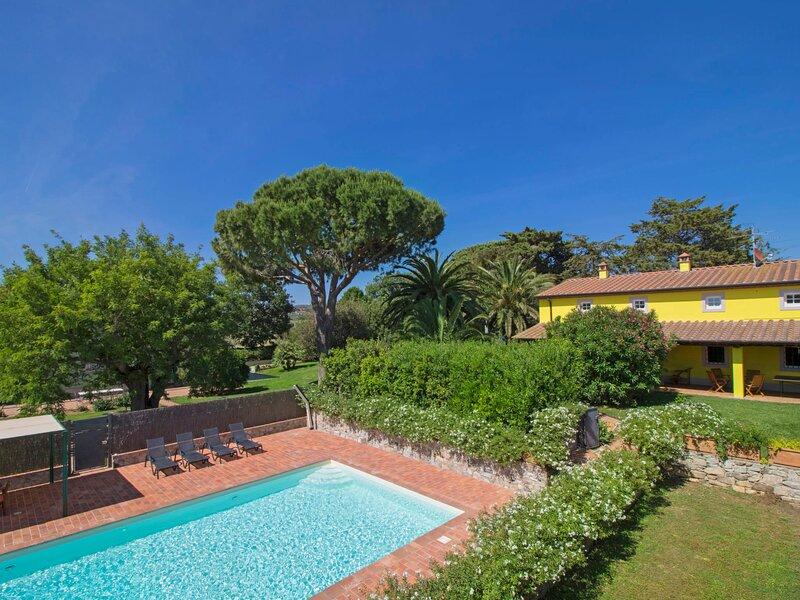 Villa il Pellicano, vakantiewoning in San Vincenzo