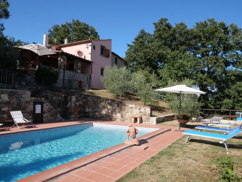 Beautiful home in Prata with 2 Bedrooms, WiFi and Outdoor swimming pool, holiday rental in Boccheggiano