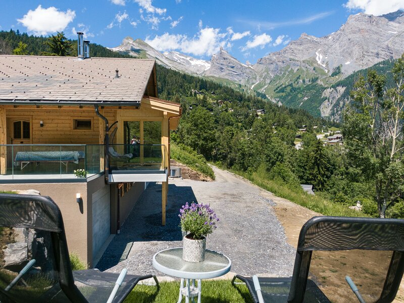 La Paisible, holiday rental in Ovronnaz