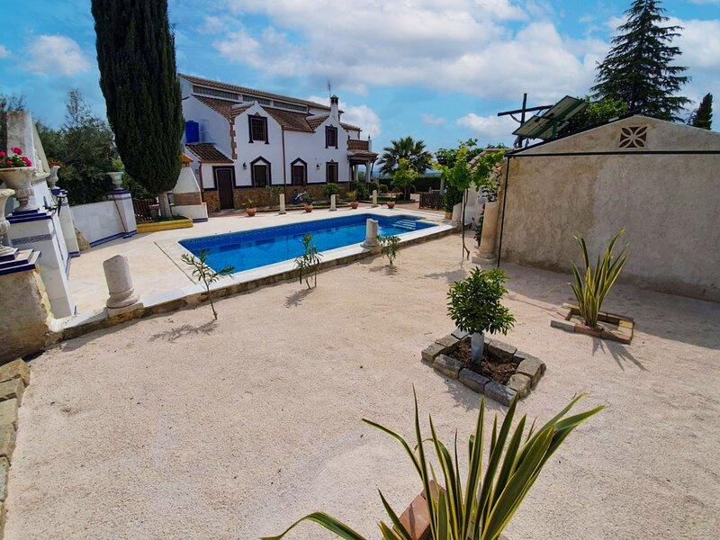 Villa San Luis, holiday rental in Estepa