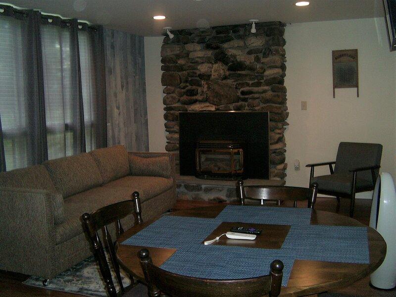 Cabin 4 Killington / Rutland Clean, Comfortable 2 Bedroom Cabin, holiday rental in Mendon