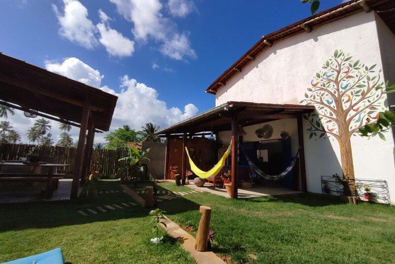 Casa ampla e equipada em Tatuamunha, Milagres, aluguéis de temporada em Porto de Pedras
