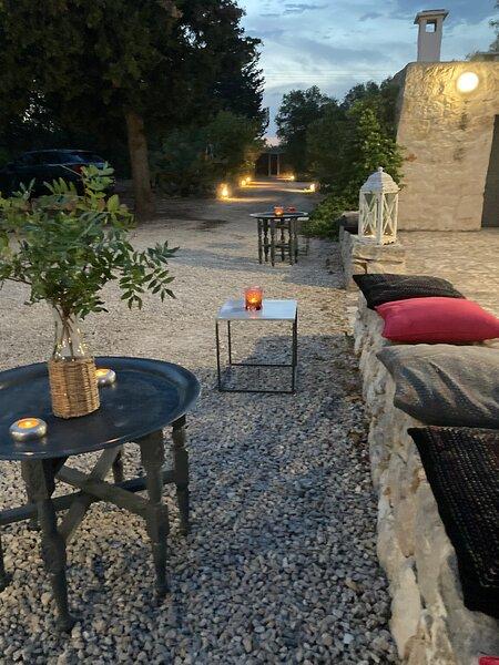Trullo e villa L'ANNAMARCO with large private swimming pool, alquiler de vacaciones en Certosa