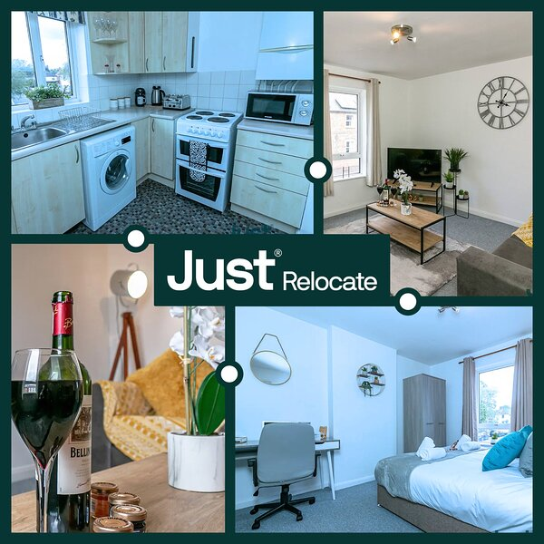 Lime Walk 2 Bed Apartment Contractors Welcome, holiday rental in Headington