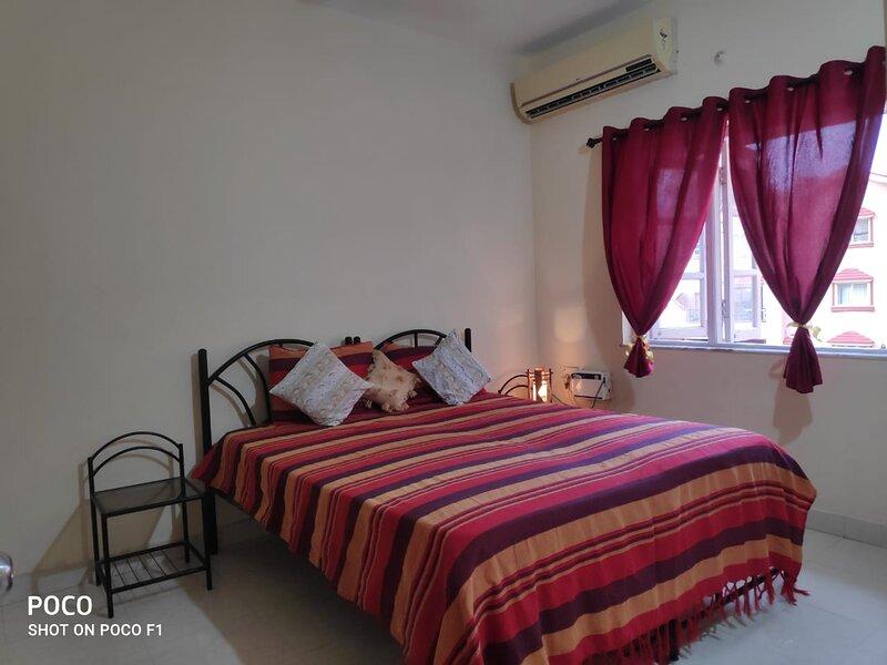 1 Bedroom flat Baga road, holiday rental in Saunta Vaddo