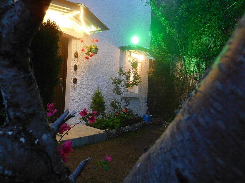 Turquoise cottage 1 bedroom fully furnish cottage with garden & living room, aluguéis de temporada em Naukuchiatal