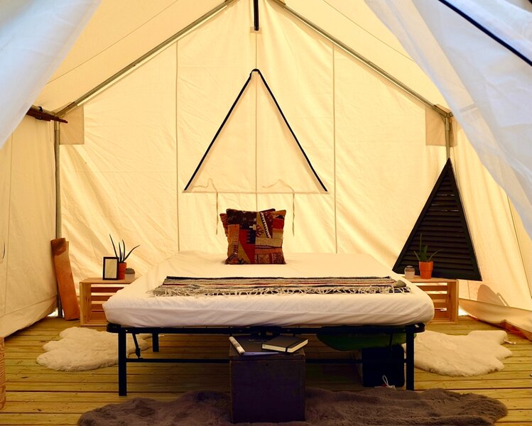 Tentrr Signature Site - Downeast Glamping !, holiday rental in Lamoine