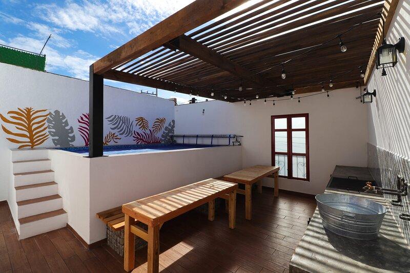 +MS +Casa Josefina +Corazón de Tequis +Alberca Privada, holiday rental in Bernal