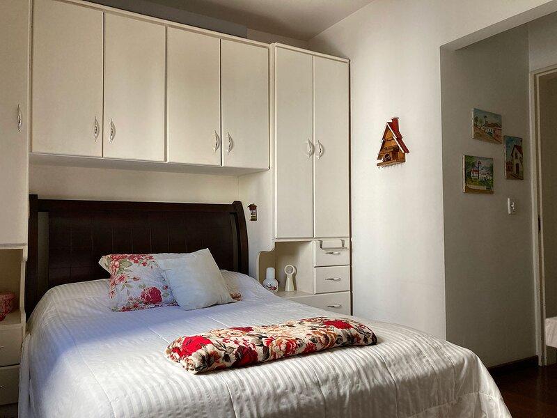 Apartamento com Wi-Fi no Brooklin/SP, holiday rental in Sao Bernardo Do Campo