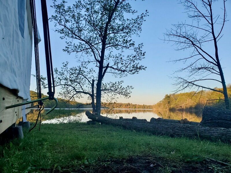 Tentrr State Park Site - Lake Taghkanic Lakeside Single - Site B, holiday rental in Ancram