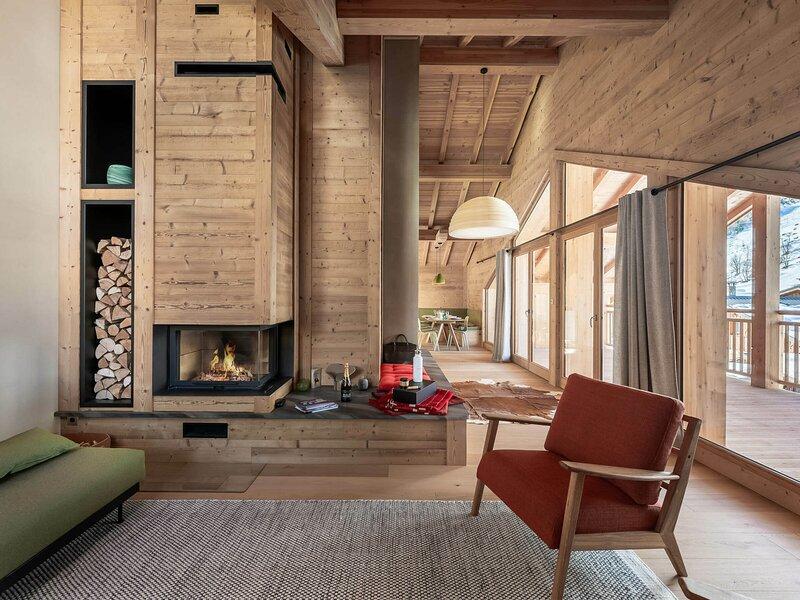 Appartement dans un nouveau chalet avec une belle terrasse, location de vacances à Le Bettaix