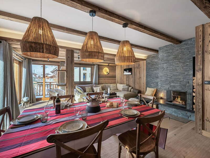 Agréable appartement dans une nouvelle résidence proche des pistes de ski, location de vacances à Le Bettaix