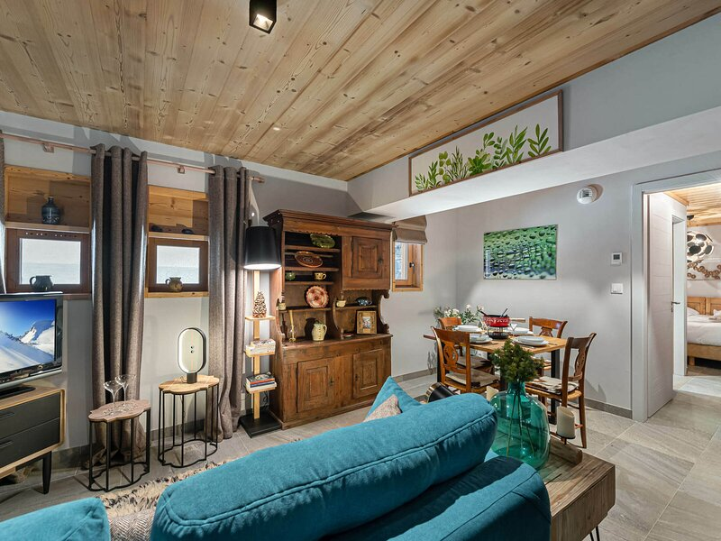 Appartement deux pièces parfait pour un couple., location de vacances à Le Bettaix