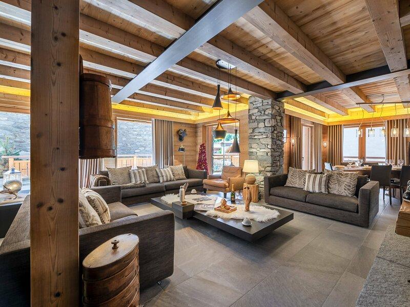 Agréable appartement de 125m² pour 6 personnes, location de vacances à Le Bettaix