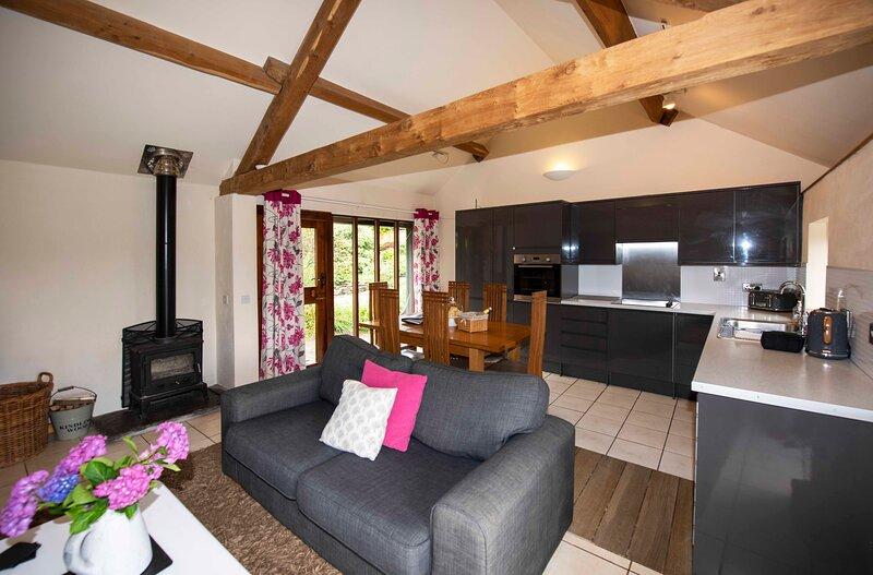 Wye Cottage, Penrheol Farm, aluguéis de temporada em Gwenddwr