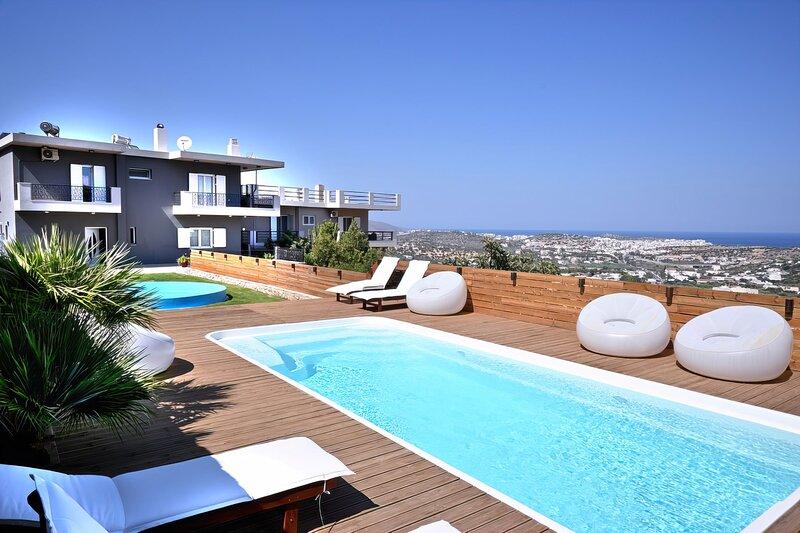 Villa Amina Crete, holiday rental in Agios Nikolaos