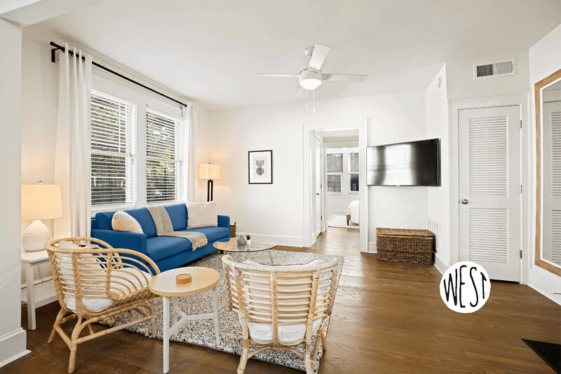 West Home - Comfy 1bd/1ba Apartment in Virginia Highlands!, vacation rental in Druid Hills