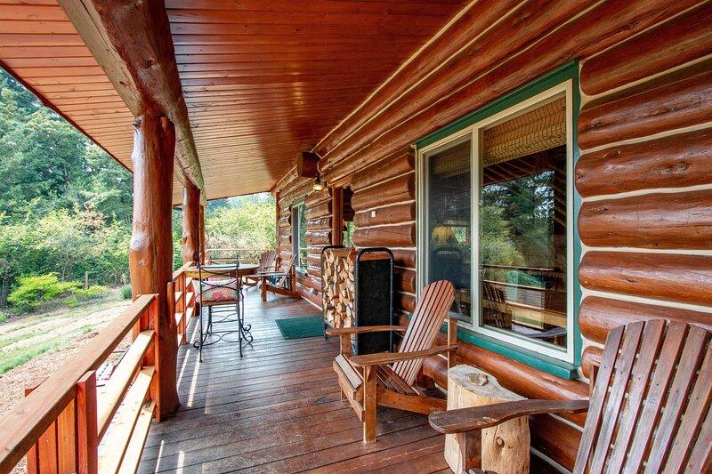 The Log Cabin, vacation rental in Stevenson