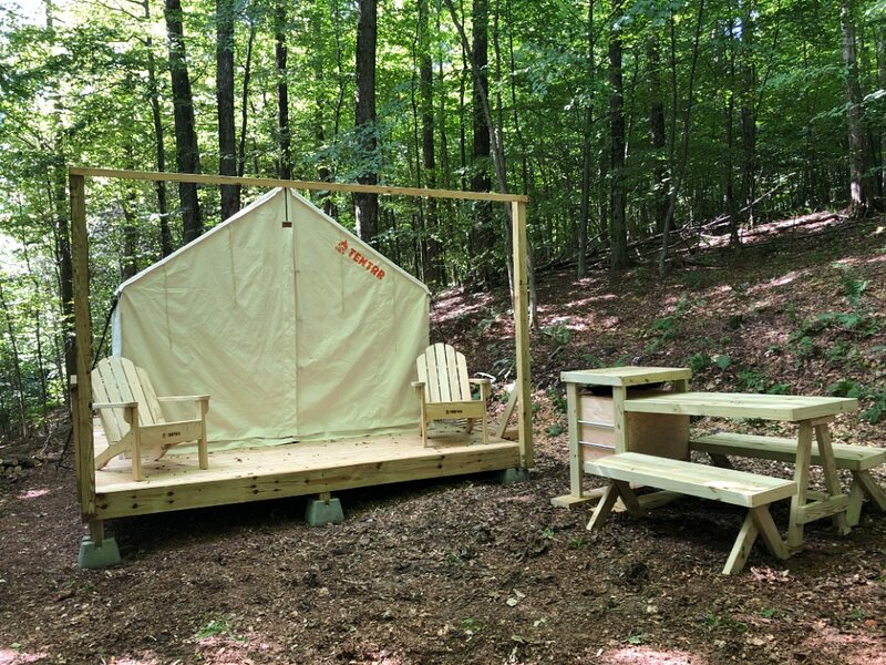 Tentrr Signature Site - Hancock Haven, holiday rental in Pownal