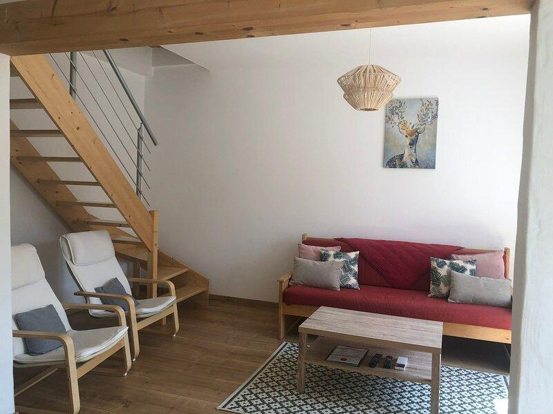 Maison classée 3* plein sud, alquiler vacacional en Montagny