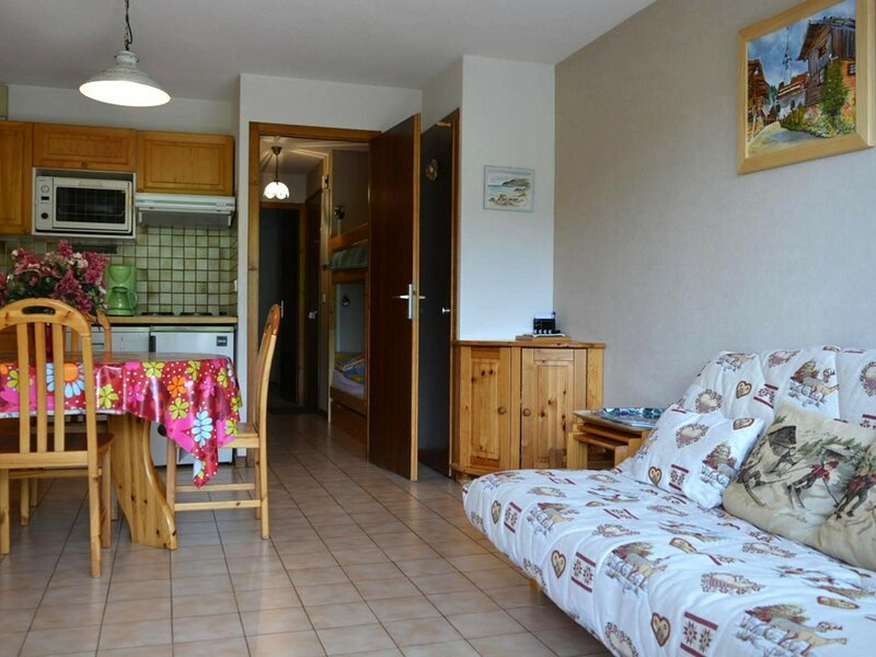 Appt 2 pièces 6 couchages GRAND BORNAND, holiday rental in Le Petit-Bornand-les-Glieres