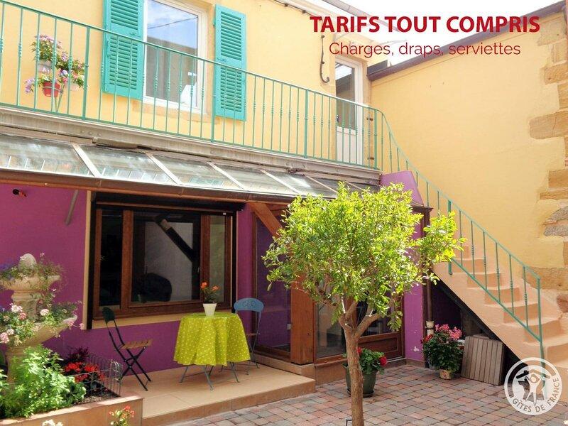 Studio Confort : Mbélé, holiday rental in Pouilly-sous-Charlieu