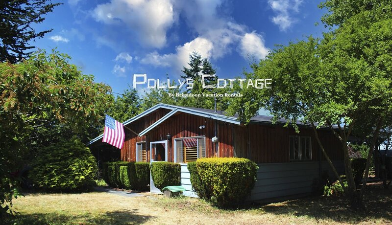 NEW! Rustic Cabin in Sequim, holiday rental in Sequim