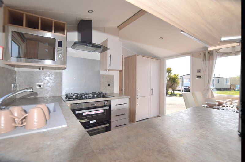 Stunning 3-Bed Static home in Birchington/ Margate, aluguéis de temporada em Minster