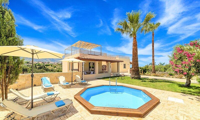 Casa di Palma Heated Pool, alquiler de vacaciones en Creta