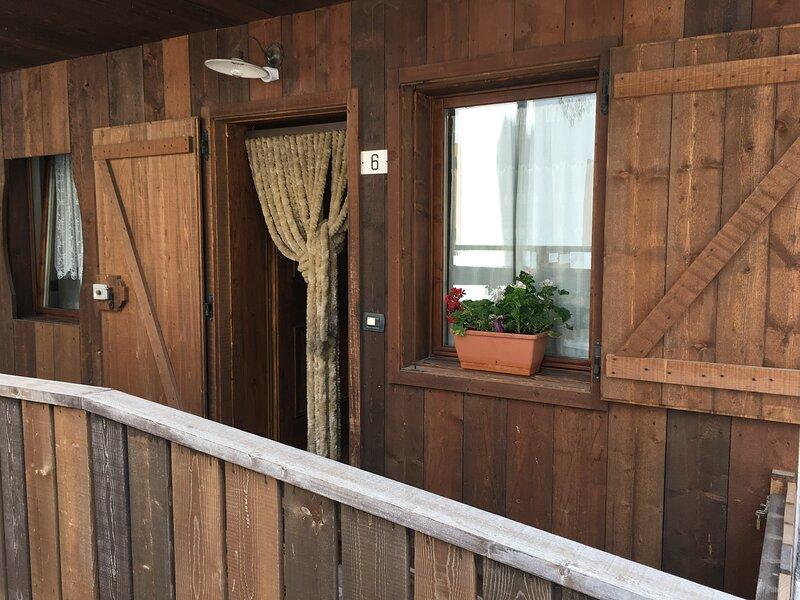 Appartamento a San Vito di Cadore 6 posti +lettino, vacation rental in Tai di Cadore