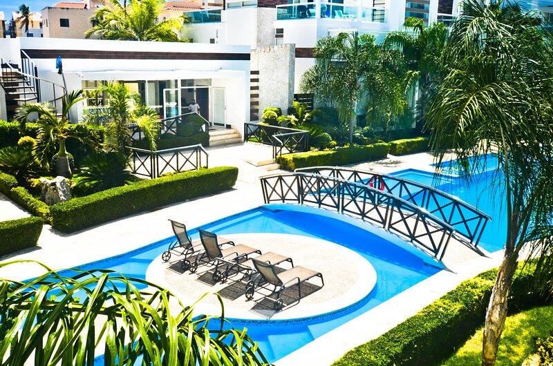 Costa Hermosa G-202 -  2 Bdrm,2nd level condo with elevator – semesterbostad i El Cortecito