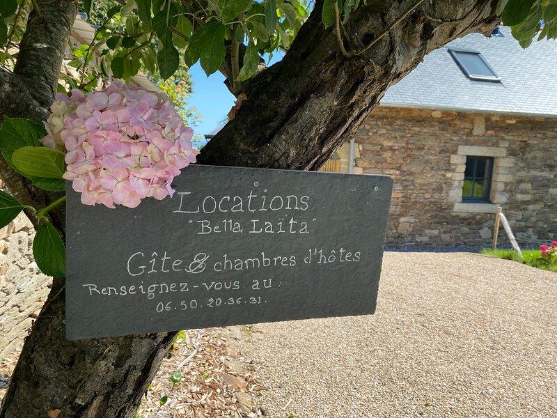 Gîte*** et Chambres d'Hôtes Bella Laïta, Bretagne Sud-Finistère, Clohars-Carnoët, holiday rental in Guidel-Plage