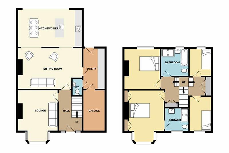 Detailed floor plan