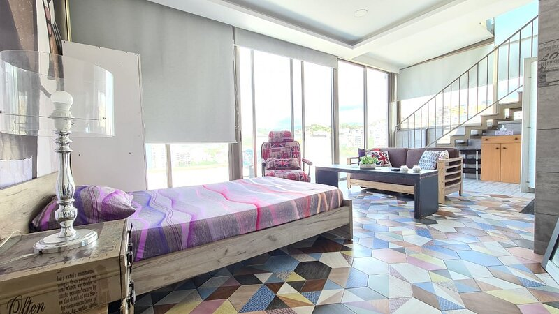 Studio great location Dbayeh near LE Mall with access to rooftop, holiday rental in Khalde