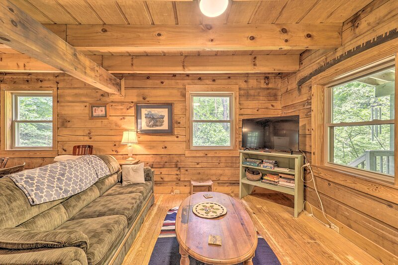 Boone Vacation Rental | 3BR | 2BA | 2,400 Sq Ft | 2-Story Cabin