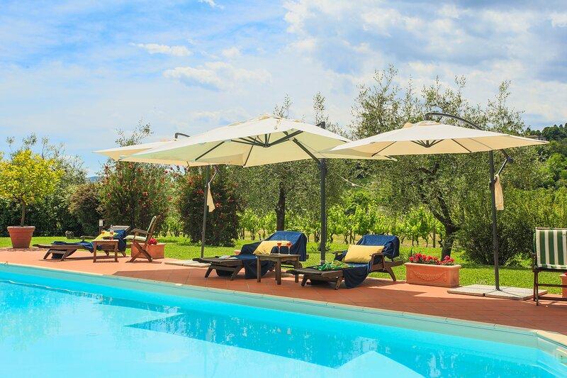 Villa De Fiori, alquiler vacacional en Germinaia