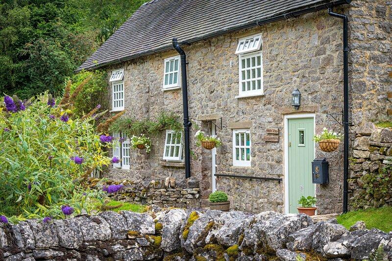 Bankside Cottage Milldale 'The perfect escape' – semesterbostad i Peak District National Park