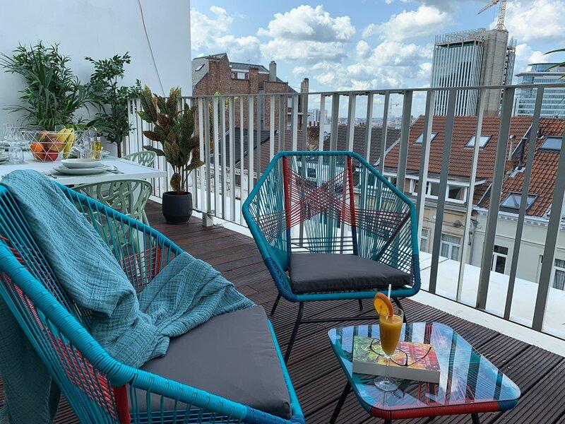 R213 Deluxe Residence w/ Lounge Terrace, alquiler de vacaciones en Nossegem