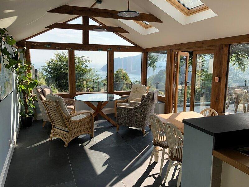 Ocean view, vacation rental in Countisbury