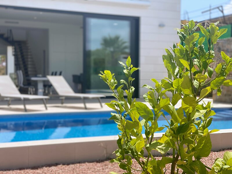 Luxurious Private Villa with heated pool on Golf Course, Las Colinas LC1, holiday rental in Lo Rufete