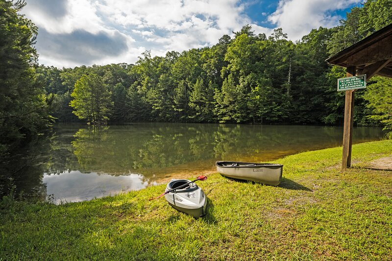 Frog Pond Hollow Lodge, holiday rental in Ranger
