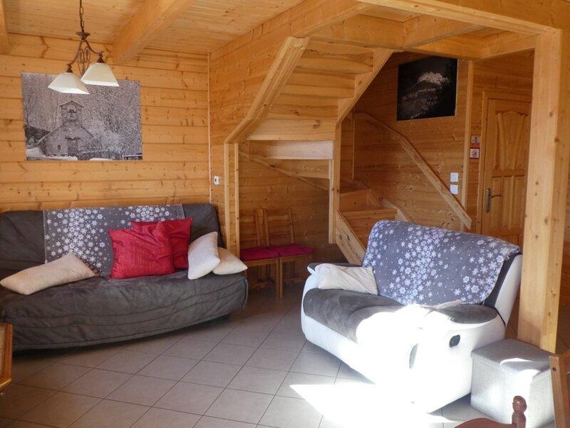 Chalet de montagne 8 personnes tout confort Aig 12, alquiler de vacaciones en Reallon