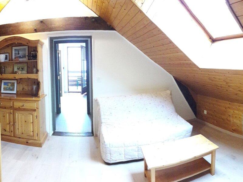 Appartement T4 pour 6 personnes en pleine montagne Baratier, holiday rental in Crots
