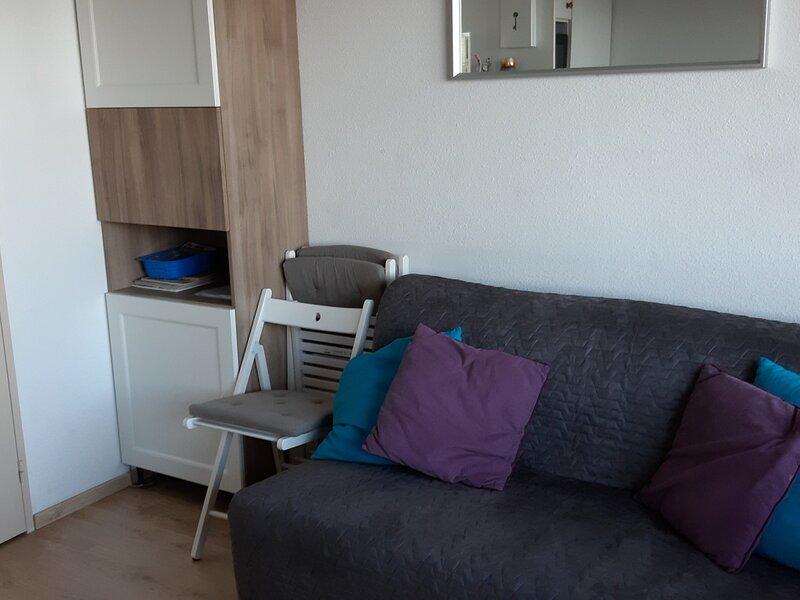 Studio cabine résidence Dôme, holiday rental in Sainte-Agnes