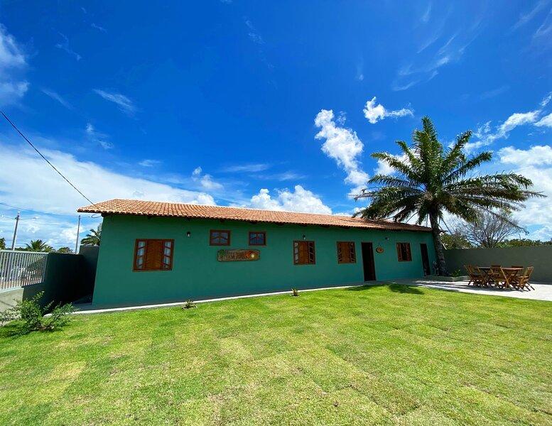 BIG Promo! Casa Dendê 10 People by Ponta Corumbau!, casa vacanza a Ponta do Corumbau