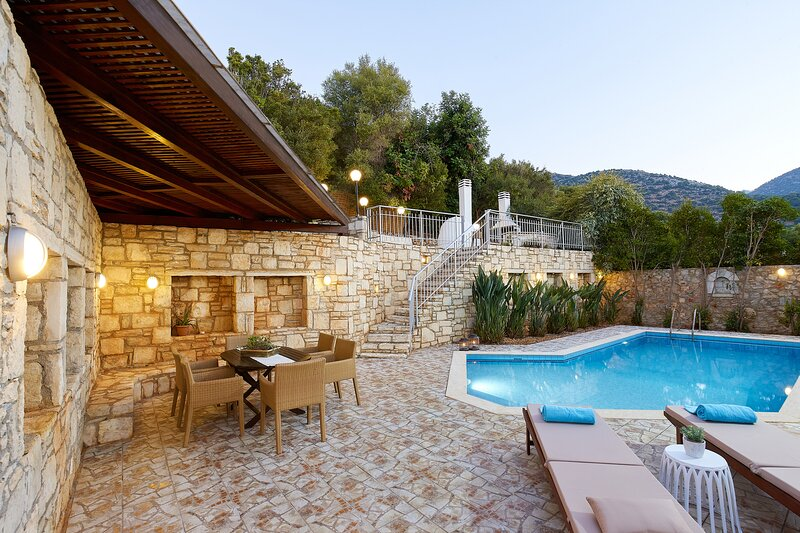 Villa Dioni - Only 600m from the beach, vacation rental in Drosia