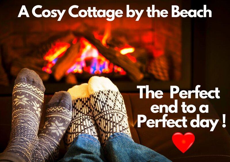 Beach Cottage - The Ultimate Seaside Experience! Lake Views Log Burner Romantic!, holiday rental in Sandilands
