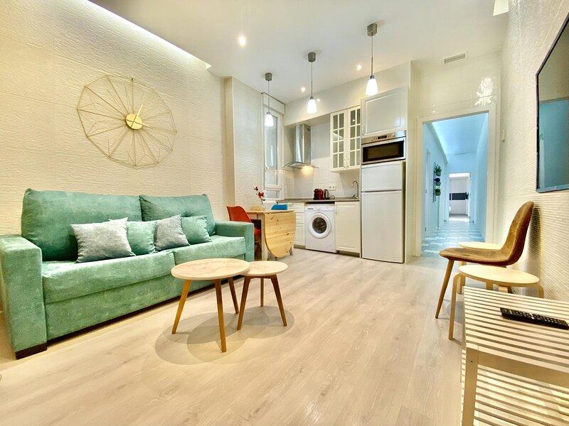 Charming Puerta del Sol Center II - 3 bedrooms, 2 bathrooms, balcony, holiday rental in Madrid